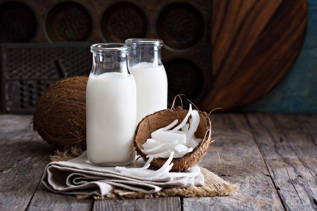 La leche de coco concentro el sabor mejor que otras