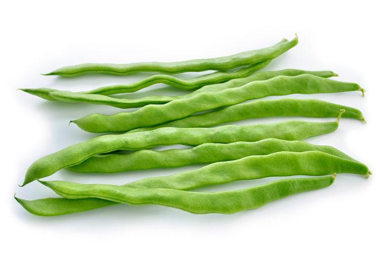 Las judía verde plana es un ingrediente indispensable en la paella