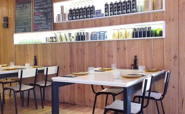 Para sus platos escogen productos provenientes del Mercado Central de Ruzafa y el Mercado Central de Valencia
