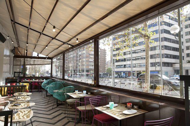 Tanto el restaurante como la terraza son dos espacios señoriales
