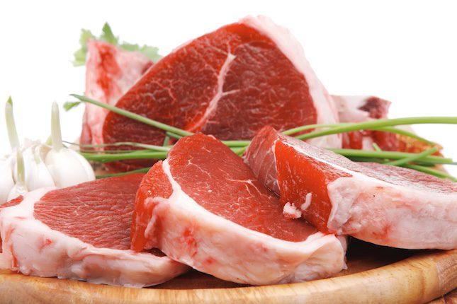Evita la carne roja