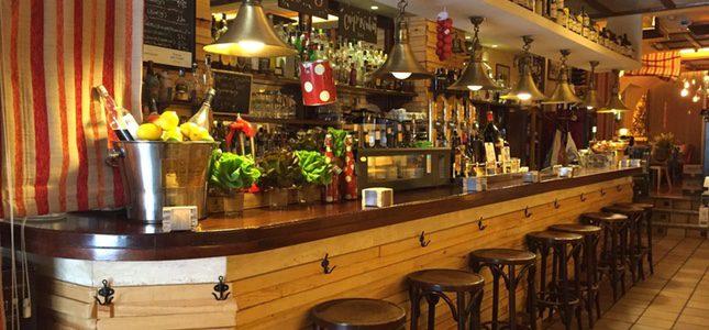 Barra de bar del restaurante Ceo Bermúdez del Grupo Alcaravea. foto: Grupo Alcaravea