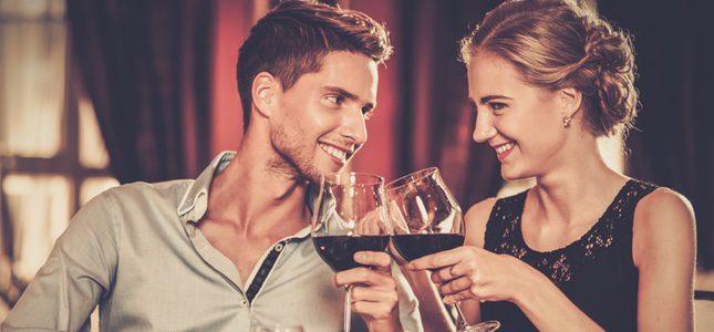 Los vinos dulces para parejas muy enamoradas.