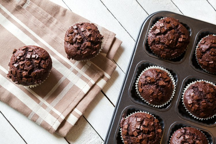 Los muffins son más compactos que las magdalenas