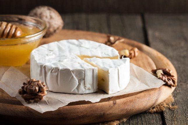 El queso brie es perfecto para fundir