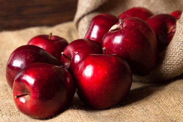 La manzana Red Delicious es aromática y tiene una carne jugosa.