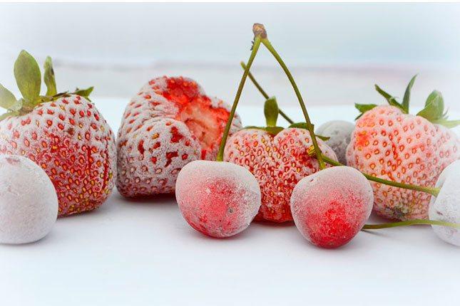 La fruta dura en el congelador hasta 12 meses</p><p>