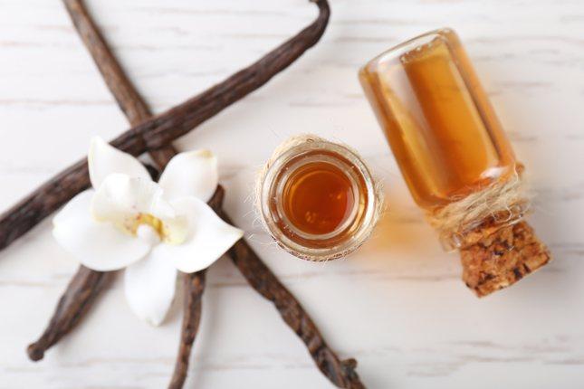 La vainilla se usa pero resulta suficiente para potenciar y estabilizar el sabor y aroma de Nutella