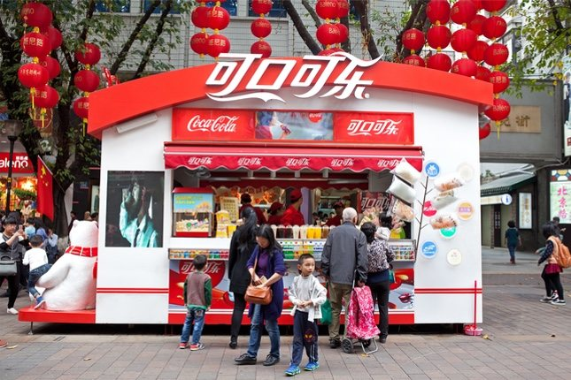 La Coca-Cola es la bebida más extendida por el mundo