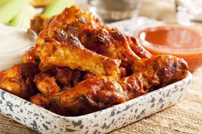 Las alitas de pollo al horno tiene un sabor espectacular