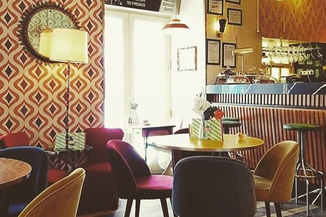 Este restaurante de ambiente retro ofrece deliciosas muffins, tartas o cookies / @lolinavintagecafe