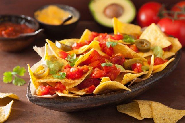 Totopos, más conocidos como nachos