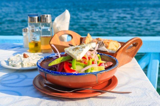 La cocina griega tiene muchas cosas en común con la española
