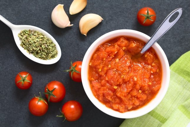 La salsa pomodoro es una de las muchas salsas italianas