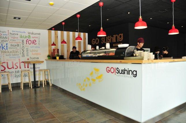 Uno de los locales de Go! Sushing