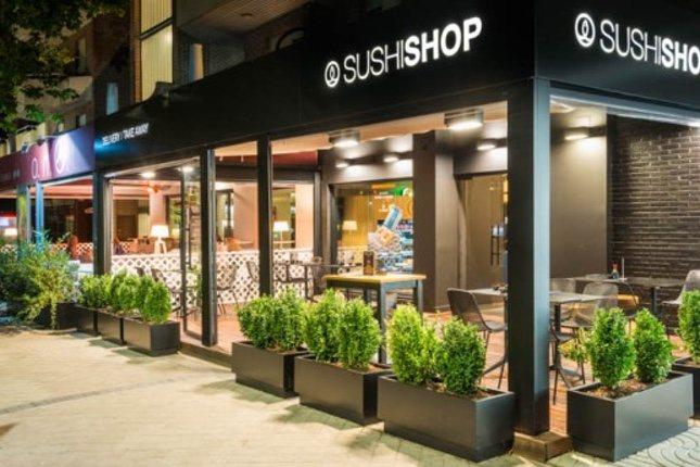Uno de los locales de Sushi Shop