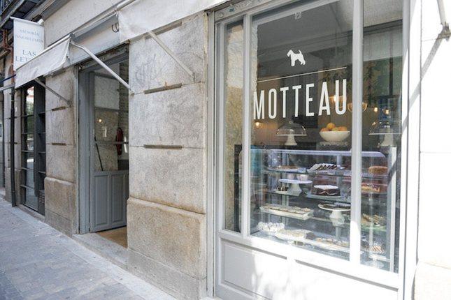 La cafetería Motteau es experta en caracolas y croissants
