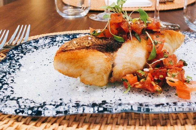 El pez limón es una de las especialidades de Pante