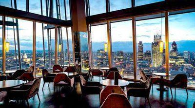 5 restaurantes de Londres con vistas impresionantes