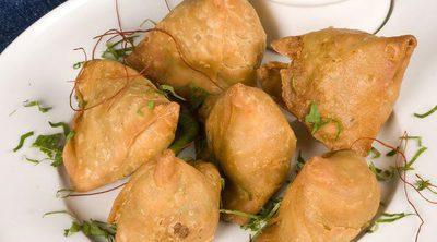 Empanadillas árabes de guisantes