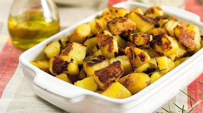 Patatas al microondas con textura cocida