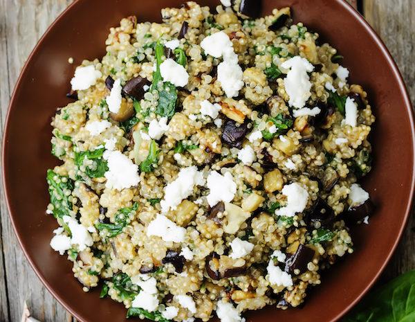 Quinoa Con Queso Recipe — Dishmaps