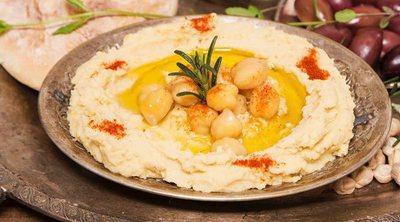 Hummus de garbanzos con pimentón