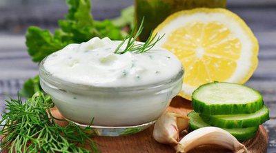 Salsa tzatziki griega