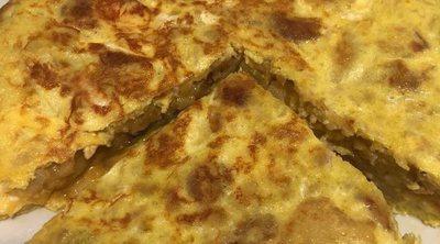 Tortilla de patata a lo Cepeda
