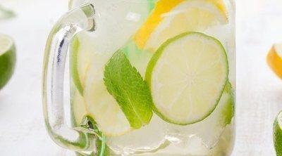 Limonada o agua de limón