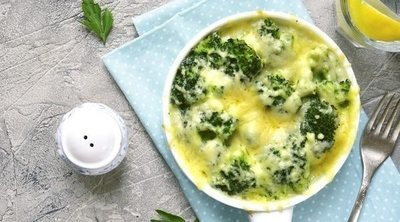 Brócoli gratinado