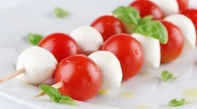 Bruschetta de tomate y mozzarella