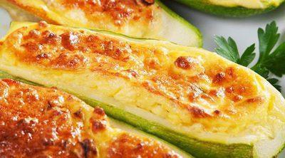 Calabacines a los cuatro quesos