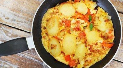 Tortilla vegana de tofu