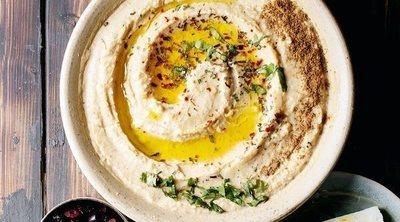 Crema árabe de garbanzos