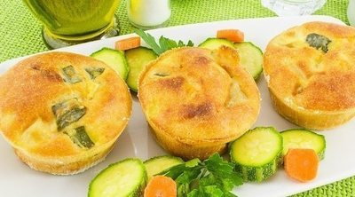 Suflé de verduras