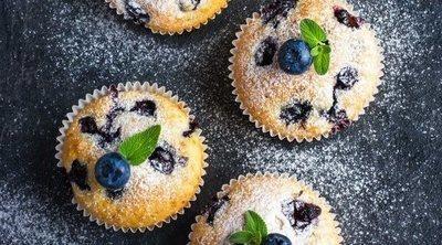 Muffins de arándanos